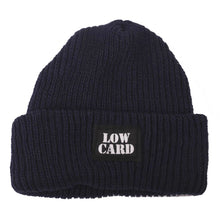 Load image into Gallery viewer, Lowcard navy Longshoreman beanie