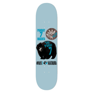 "Magenta Panday Animal Race 7.5"" Deck"