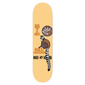 "Magenta Reed Animal Race Guest 7.75"" deck"