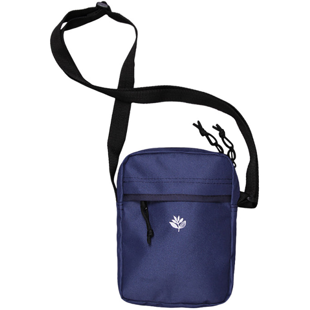 Magenta XL pouch bag navy