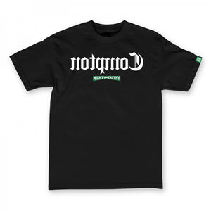 Mighty Healthy Compton black T shirt
