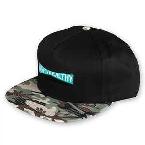 Mighty Healthy Callsign snapback cap
