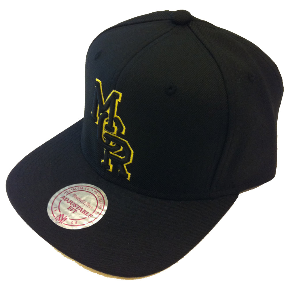 Mitchell & Ness Manchester black/yellow snapback cap