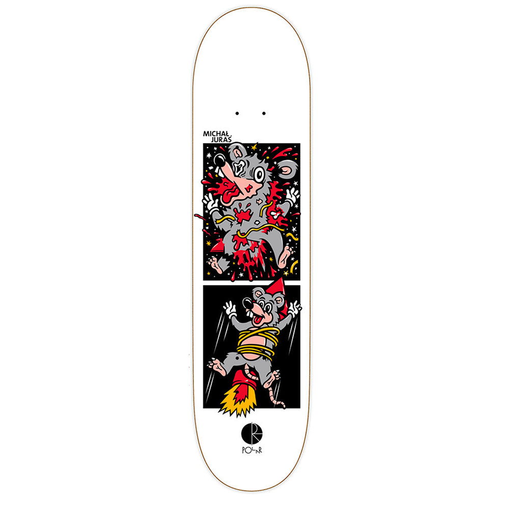 Polar Juras Mouse Rocket deck 8.25