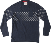 Load image into Gallery viewer, Altamont Motif Navy Crew Sweater