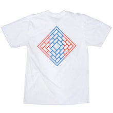 Load image into Gallery viewer, The National Colin Kennedy logo white T shirt