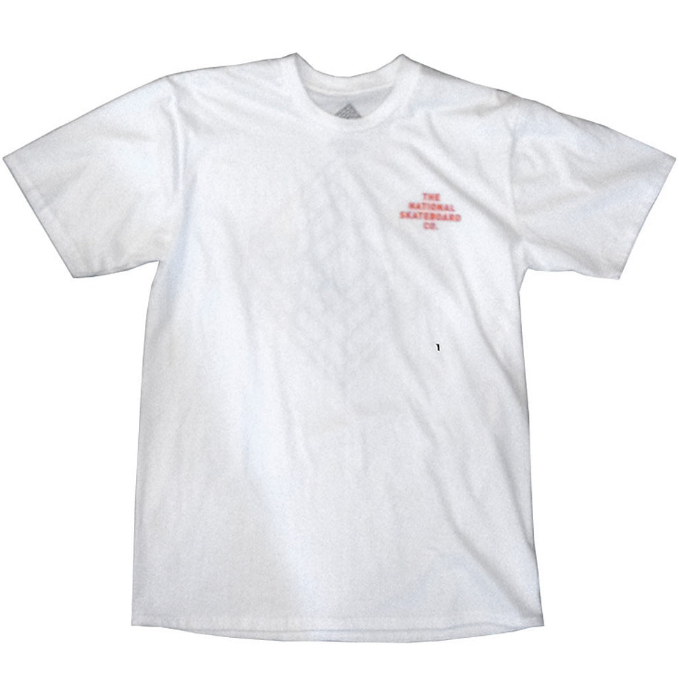 The National Colin Kennedy logo white T shirt