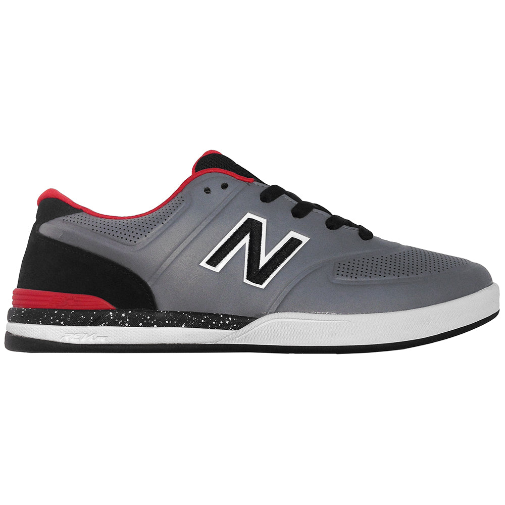 New Balance Numeric Logan 637 grey/red synthetic