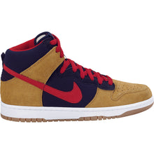 Load image into Gallery viewer, Nike SB Dunk High premium dark obsidian/varsity red