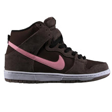 Load image into Gallery viewer, Nike SB Dunk High Pro smoke/ion pink - baroque brown