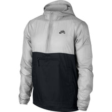 Load image into Gallery viewer, Nike SB Anorak jacket vast grey/black/black