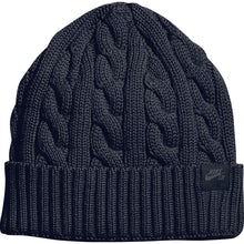 Load image into Gallery viewer, Nike SB Cable Knit black beanie