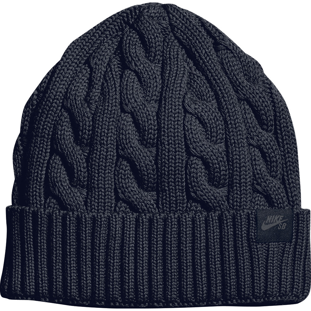 Nike SB Cable Knit black beanie