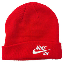 Load image into Gallery viewer, Nike SB challenge red/white beanie