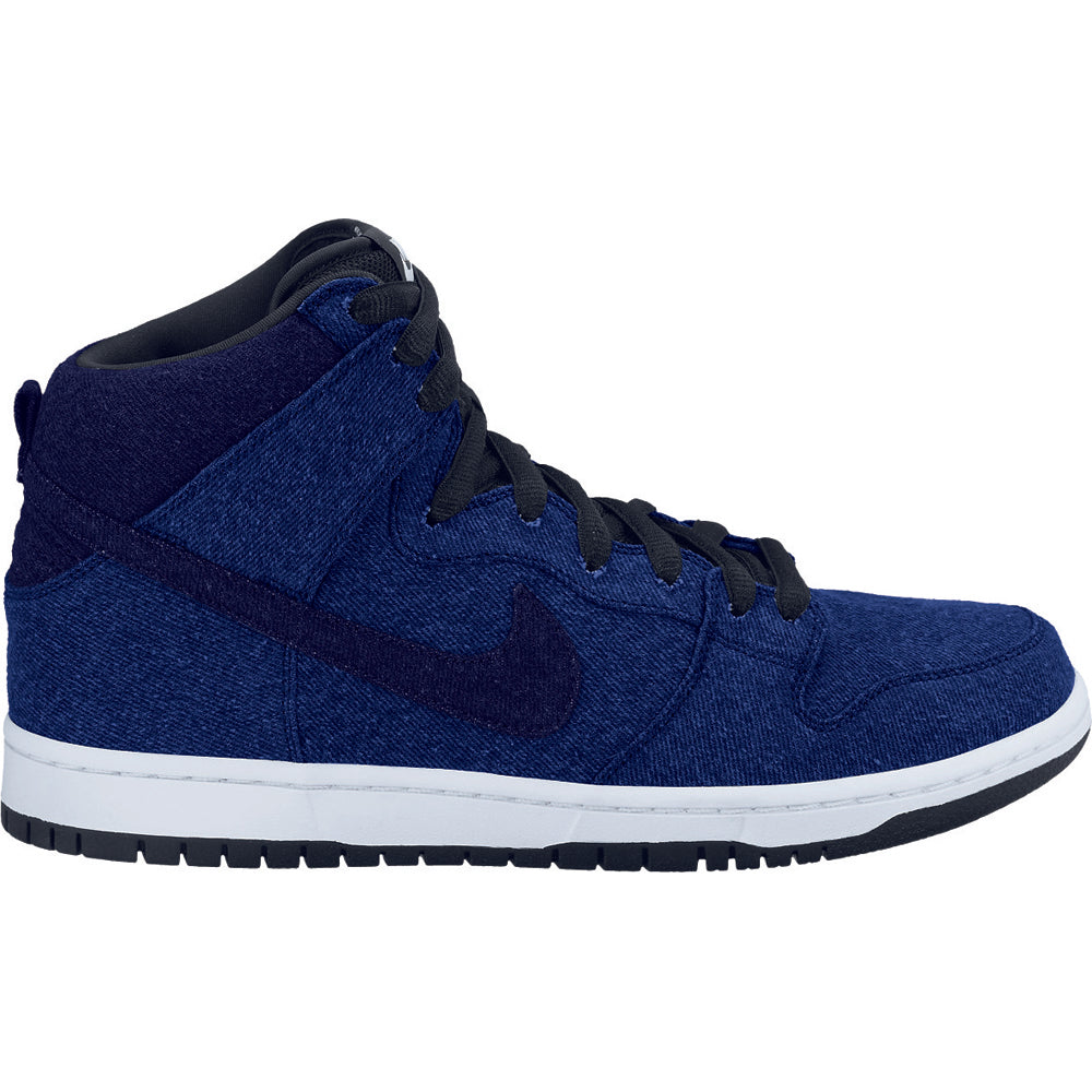 Nike SB Dunk High premium midnight navy/obsidian
