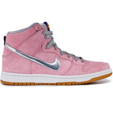 Load image into Gallery viewer, Nike SB Dunk High premium real pink/metallic silver-white