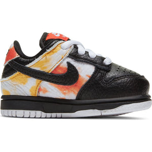 Nike SB Dunk Low black/black-orange flash baby and toddler