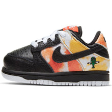 Load image into Gallery viewer, Nike SB Dunk Low black/black-orange flash baby and toddler