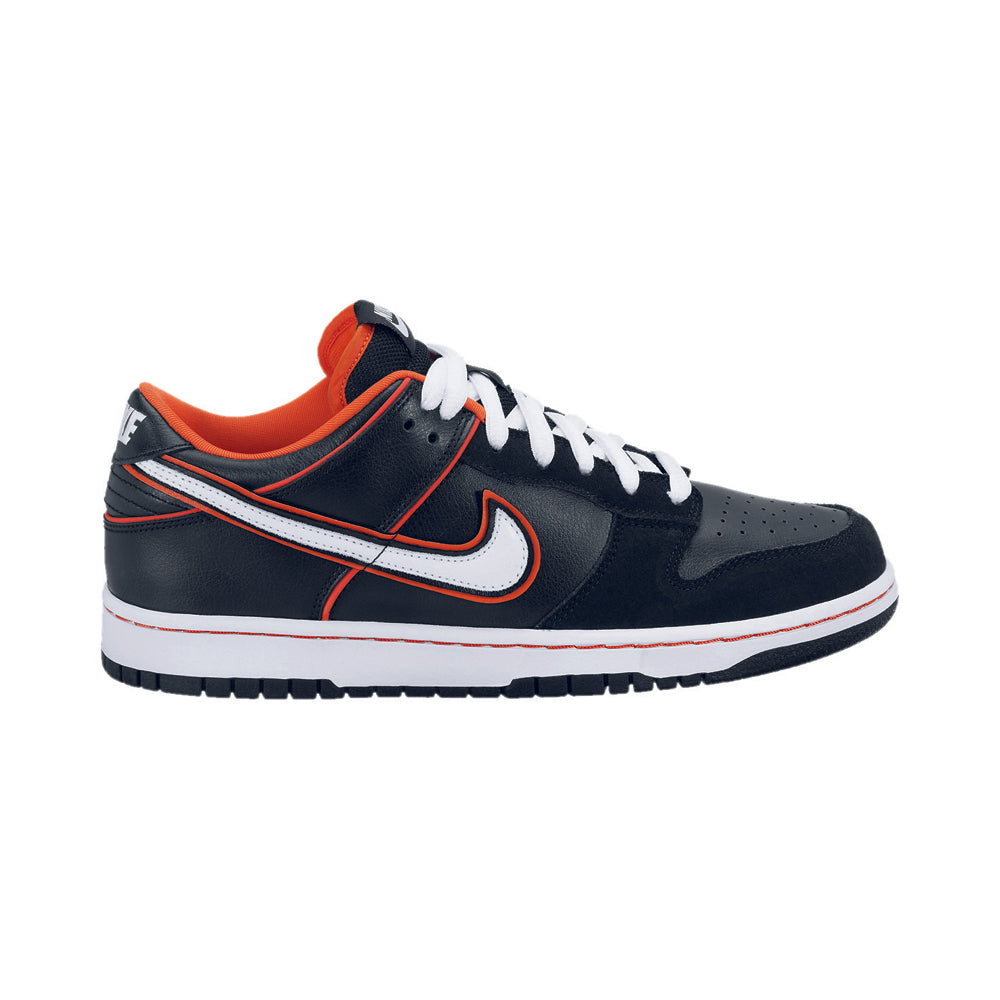 Nike SB Dunk Low pro black/white-orange blaze