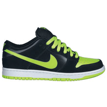 Load image into Gallery viewer, Nike SB Dunk Low Pro black/chartreuse