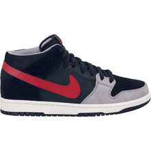 Load image into Gallery viewer, Nike SB Dunk Mid pro black/varsity red-mean green