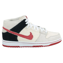 Load image into Gallery viewer, Nike SB Dunk Mid pro buff/sport red-black