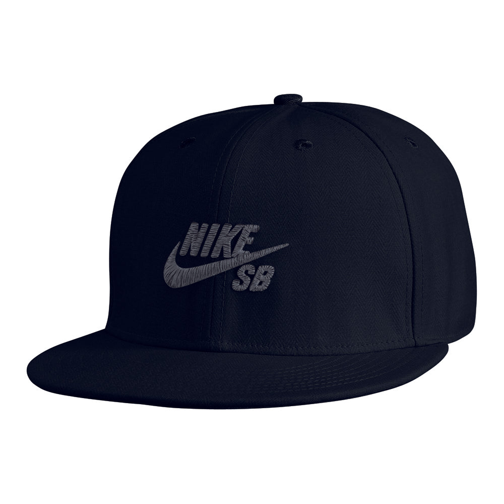 Nike SB Icon Fitted black cap