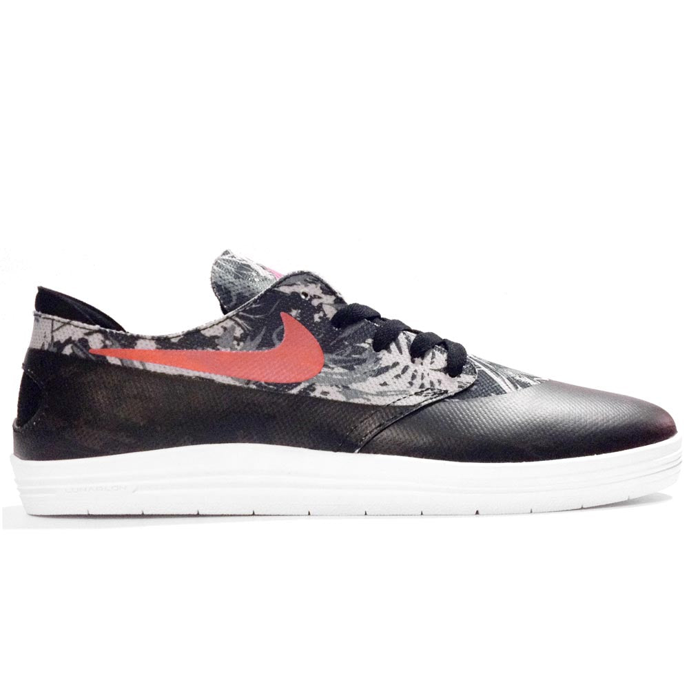 Nike SB Lunar One Shot WC black/safety orange