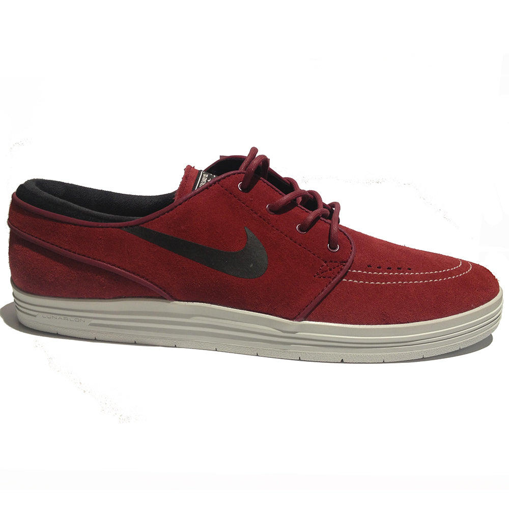 Nike SB Lunar Stefan Janoski team red/black-summit white shoes