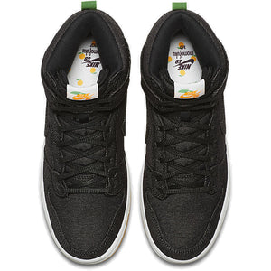 Nike SB Momofuku Dunk High TRD QS black/black-white-laser orange