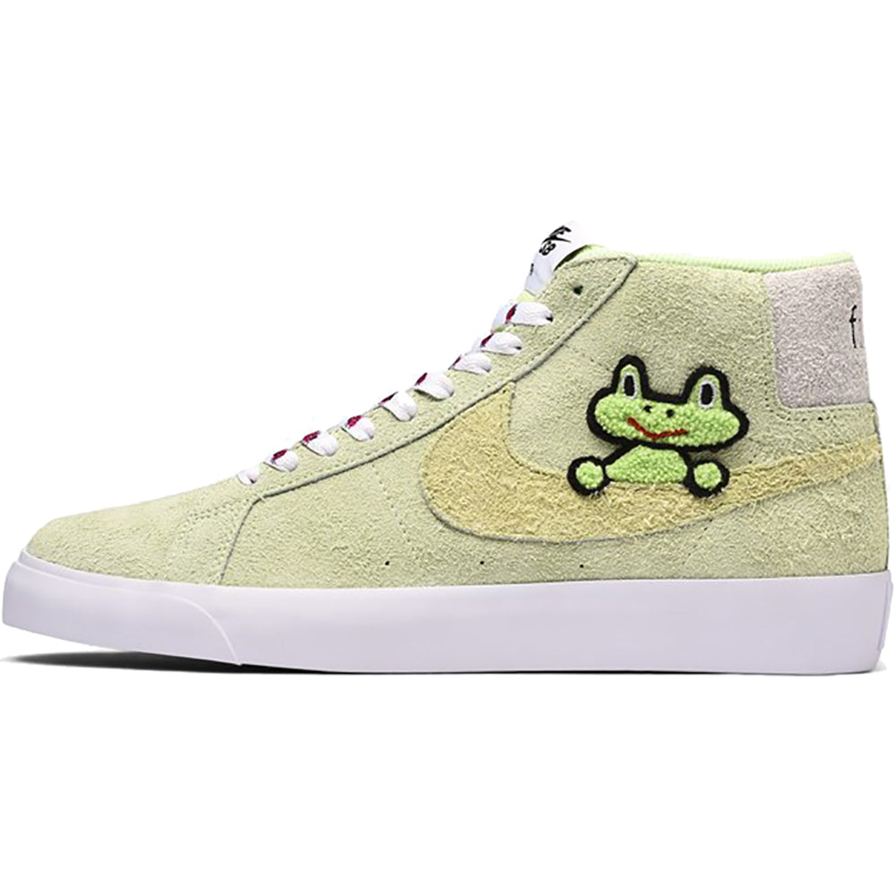 competitive price e1ee2 1061f Nike SB x Frog Zoom Blazer Mid QS light liquid lime lawn-white-