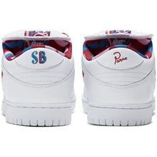 Load image into Gallery viewer, Nike SB x Parra Dunk Low OG white/pink rise-gym red-military blue