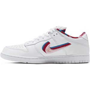 Nike SB x Parra Dunk Low OG white/pink rise-gym red-military blue