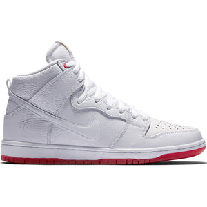 Nike SB Zoom Dunk High Pro Kevin Bradley white/university red-white