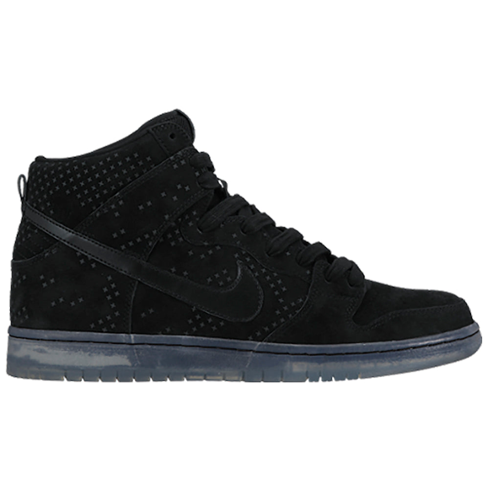Nike SB Dunk High Premium black/black-clear