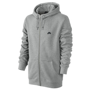 Nike SB Northup Icon dark grey heather/black zip-up hood