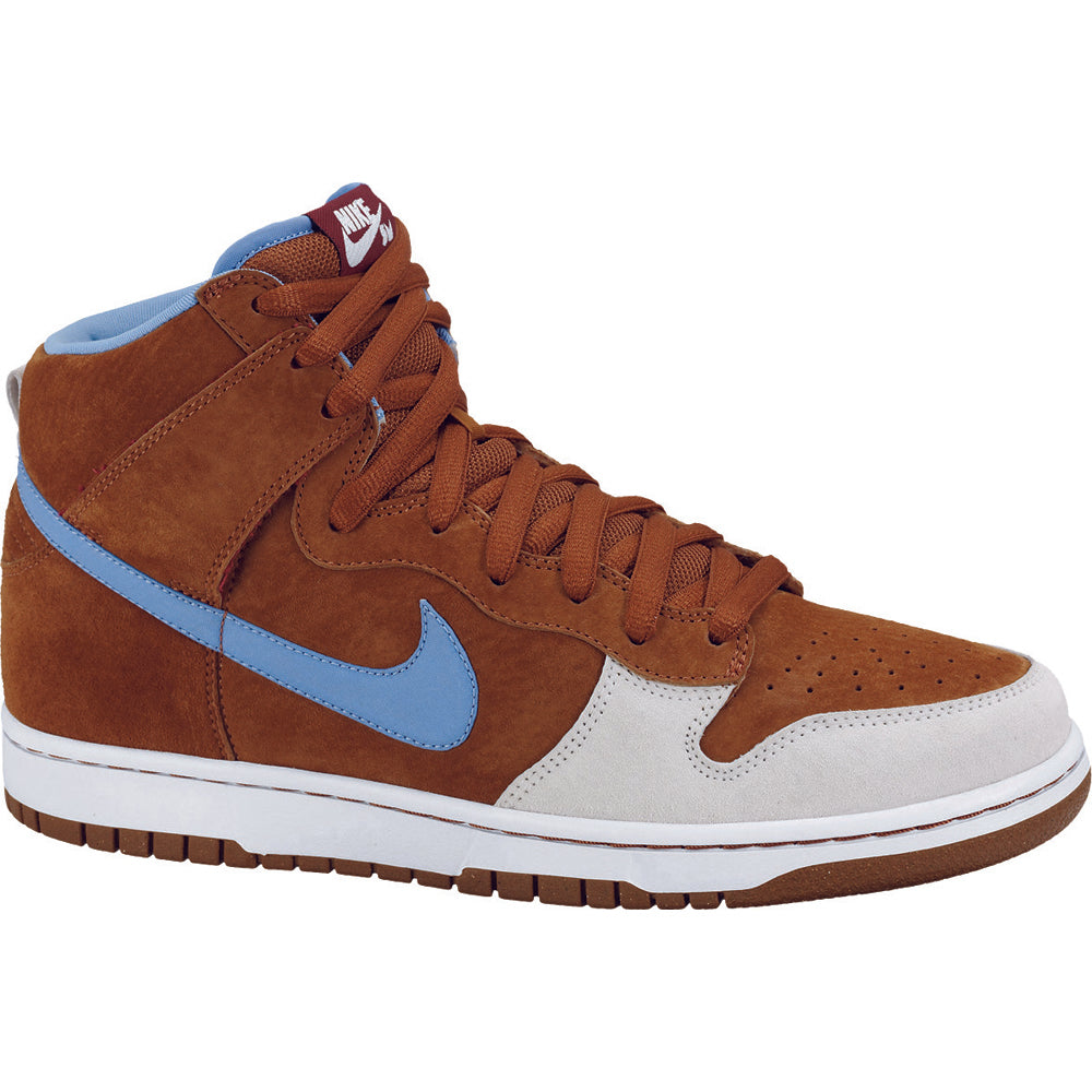 Nike SB x Skate Mental Dunk High premium hazelnut/light blue