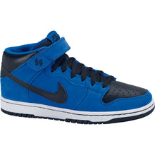 Load image into Gallery viewer, Nike SB Dunk Mid pro royal blue/black