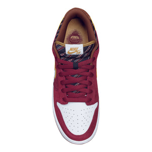 Nike SB Dunk Low pro team red/metallic gold