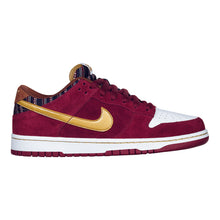 Load image into Gallery viewer, Nike SB Dunk Low pro team red/metallic gold