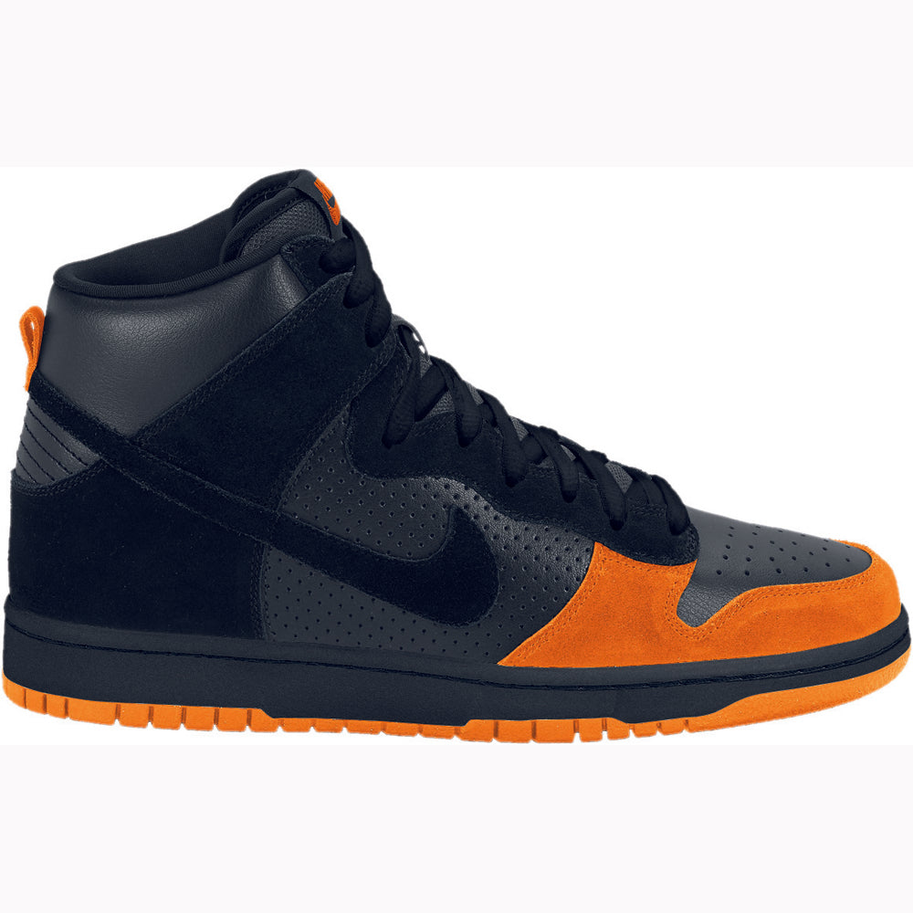 Nike SB Dunk High pro black/black/solar orange