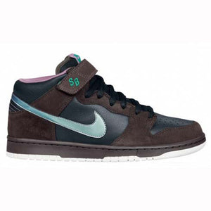 Nike SB Dunk Mid premium black/sea green