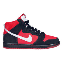 Load image into Gallery viewer, Nike SB Dunk High pro sport red/metallic platinum