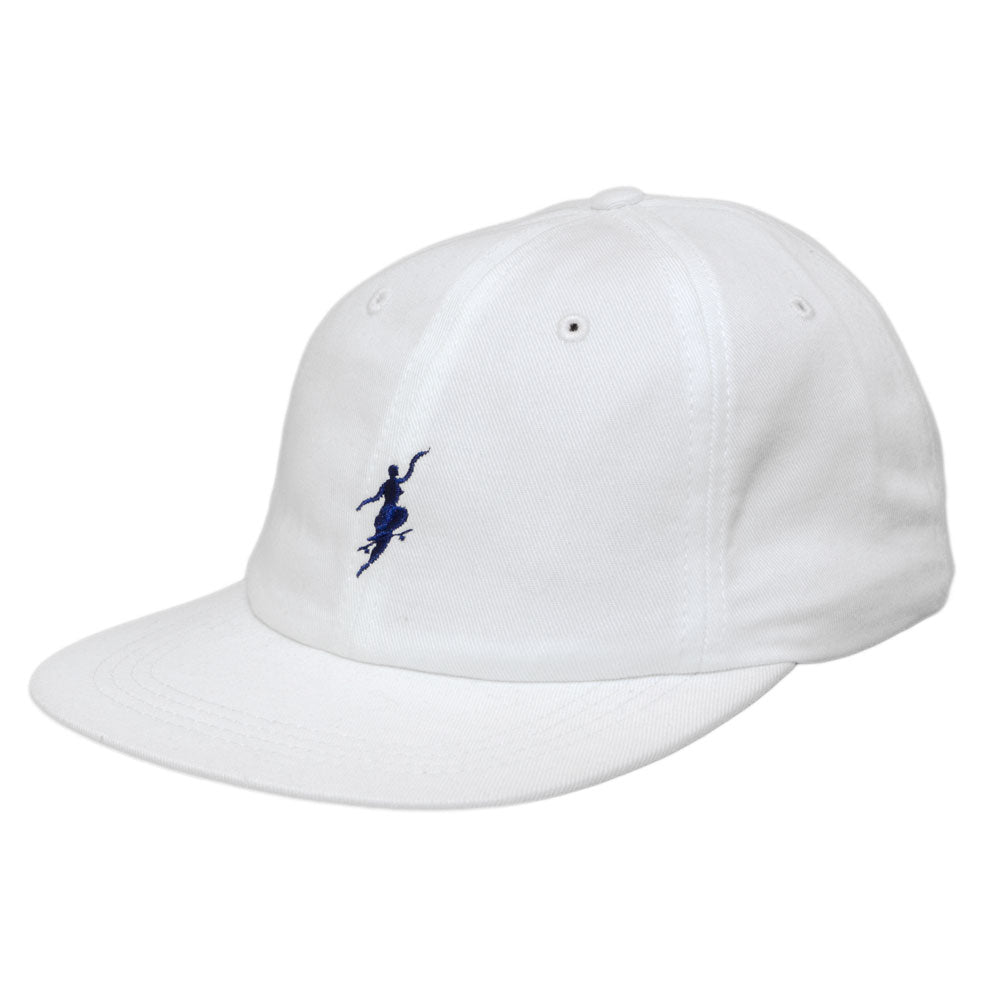 Polar No Comply white/navy cap