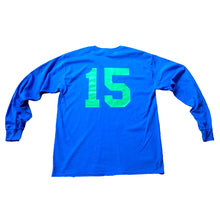 Load image into Gallery viewer, NOTE 15 royal longsleeve T shirt