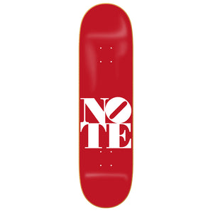 NOTE Deep Red deck 8.38""