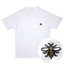 Load image into Gallery viewer, NOTE Emb white T shirt
