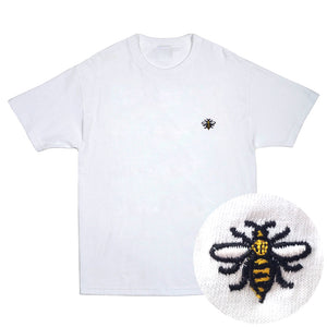 NOTE Emb white T shirt