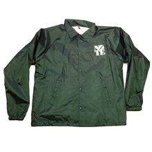 Load image into Gallery viewer, NOTE hunter green Coach Jacket