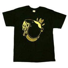 Load image into Gallery viewer, NOTE Knife Cowboy black/yellow T shirt